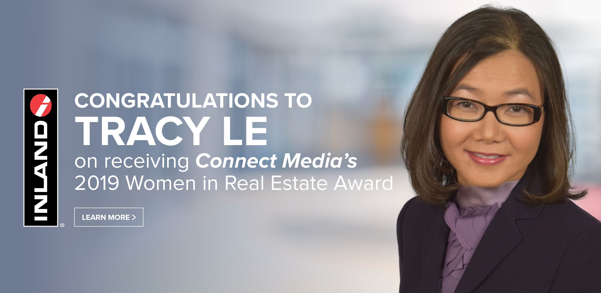 Tracy Le Connect Media Women in Real Estate Award
